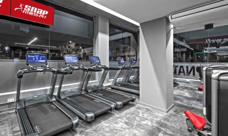 3 meses de acceso ilimitado a gimnasio las 24 horas por 99 € en 11 centros Snap Fitness