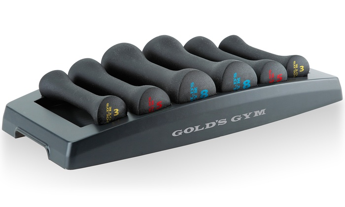 Gold's Gym Dumbbell Power Set