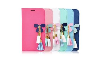 Butterfly smartphoneportefeuille in model en kleur naar keuze