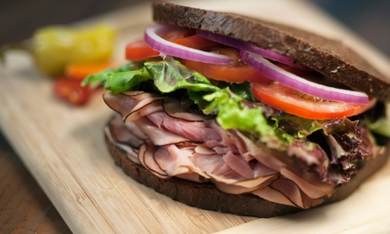 $14 for Five Groupons, Each Good for $One Deli Sandwich or Salad at Acme Deli ($27.50 Total Value)