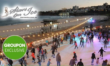 Entry to an Outdoor Ice Skating Rink Session for a Child ($10) or Adult ($12) with Bondi Winter Magic (Up to $22 Value)