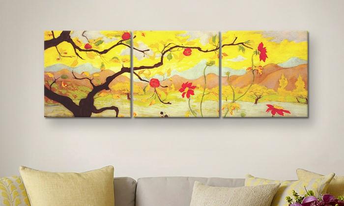 Panoramic Prints On Canvas Groupon Goods