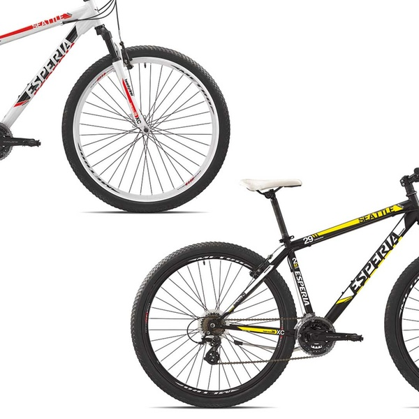Mountain Bike Seattle Esperia Disponibili In 2 Colori A 28990