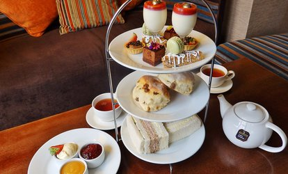 image for Luxury Afternoon Tea with Optional Sparkling Wine for Two or Four at  4* AA Accredited Holiday Inn London Gatwick Worth