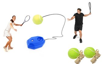 Tennis Training Ball with Rope