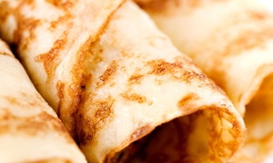 Savor Creperie: Sweet and Savory Crepes at Savor Creperie (Up to 50% Off). Two Options Available.