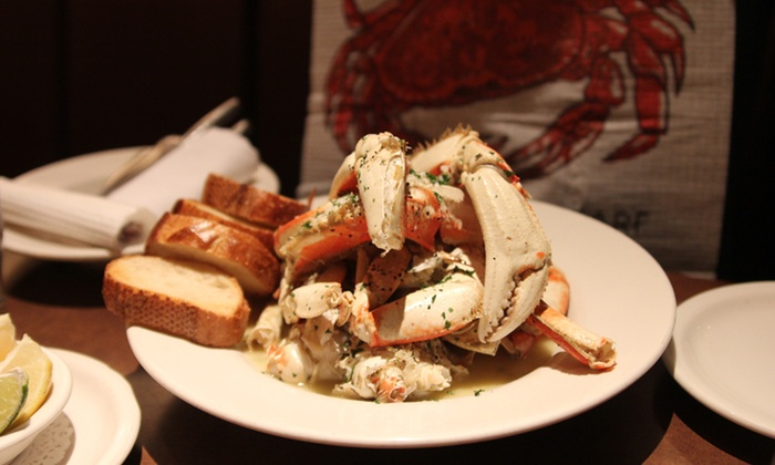 Capurro's - Fisherman's Wharf: $45 for a Dungeness-Crab Dinner for Two with Dessert at Capurro's ($83.90 Value)