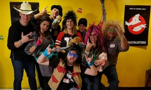Escape An 80's Dance Party or Other Escape Room Admissions at Room Escape Adventures (Up to 52%  Off)