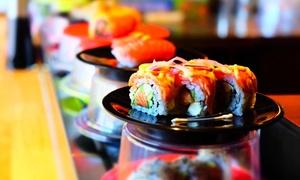 Yukiguni: Sushi Train Plates - Five ($12), Eight ($18), Ten ($22), or Twelve Plates ($26) at Yukiguni (Up to $56 Value)