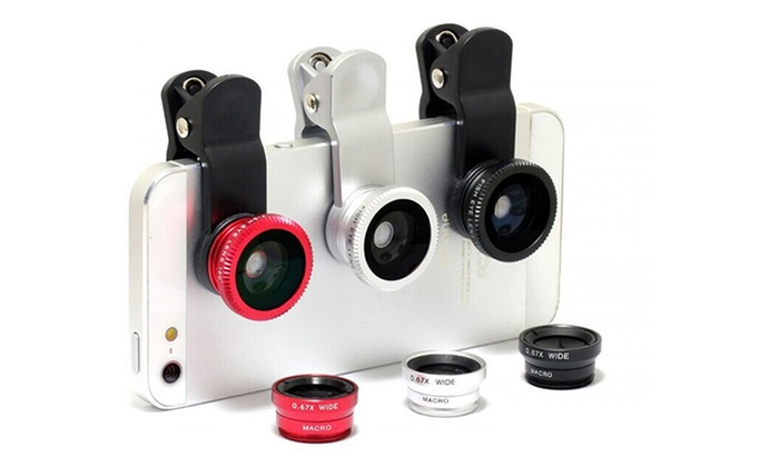 Trend Matters Smartphone Clip-On Lenses