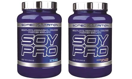 1 o 2 confezioni di proteine della soia Scitec Nutrition da 910 g disponibili in 2 gusti