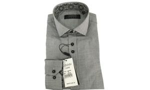 Coogi Luxe Men's Button-Down Dress Shirts (Sizes S & L)