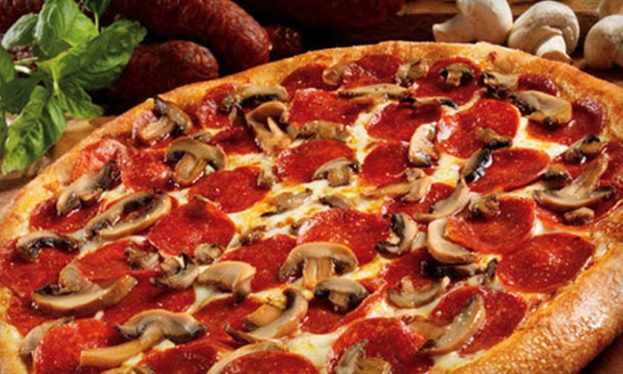 Marco's Pizza - Grand Rapids: One Pizza and Cheesy Bread or Two Pizzas, Cheesy Bread, and Cinnamon Squares at Marco's Pizza (Up to 51% Off)