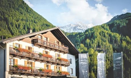 Valle Aurina: fino a 7 notti con mezza pensione, Spa e piscine Cascade presso l'Hotel Buhelwirt – Prezzo a persona