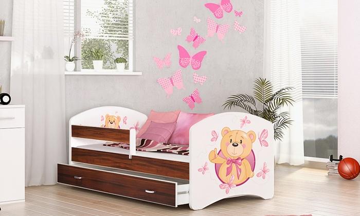 łóżka Dla Dzieci Z Szufladą I Materac Groupon