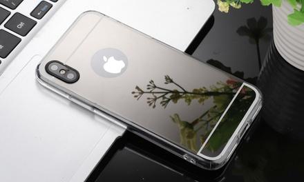 Coques de précision TPU miroir radiant pour iphone
