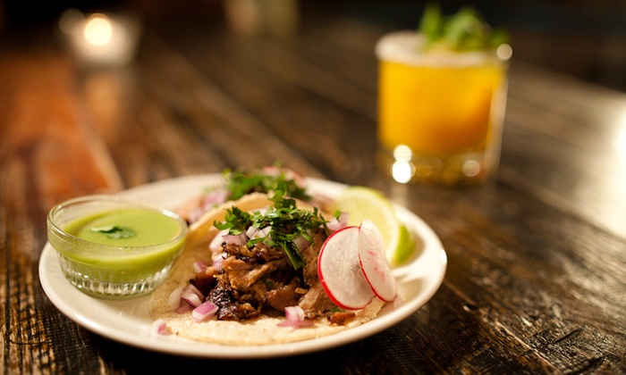 Pulqueria - Chinatown: Upscale Mexican Cuisine for Dinner for Two or Four at Upscale Mexican Cuisine at Pulqueria (Up to 50% Off)