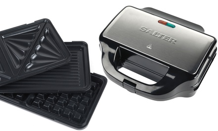 Salter XL 3-in-1 Snack Maker for £32.99 With Free Delivery (45% Off)