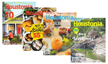 Houstonia Magazine- One- or Two-Year Subscription (Up to 53% Off)