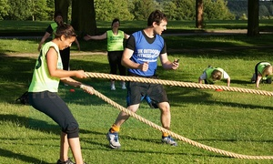 UK OUTDOOR FITNESS: 8 or 12 Boot Camp Sessions for One or Two from UK Outdoor Fitness, 11 Locations (Up to 84% Off)