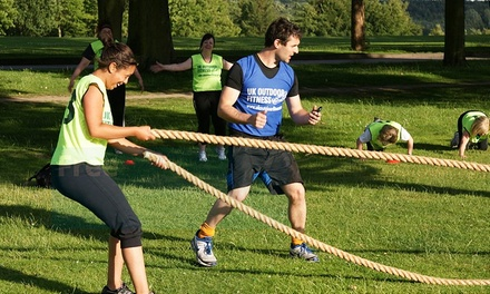 8 or 12 Boot Camp Sessions for One or Two from UK Outdoor Fitness, 11 Locations