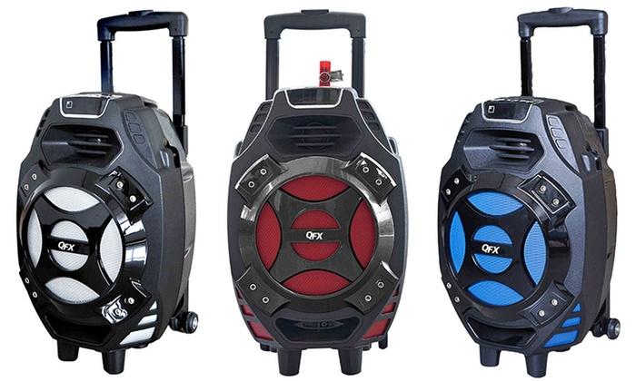QFX PBX-61081Wireless Bluetooth Tailgate Speakers