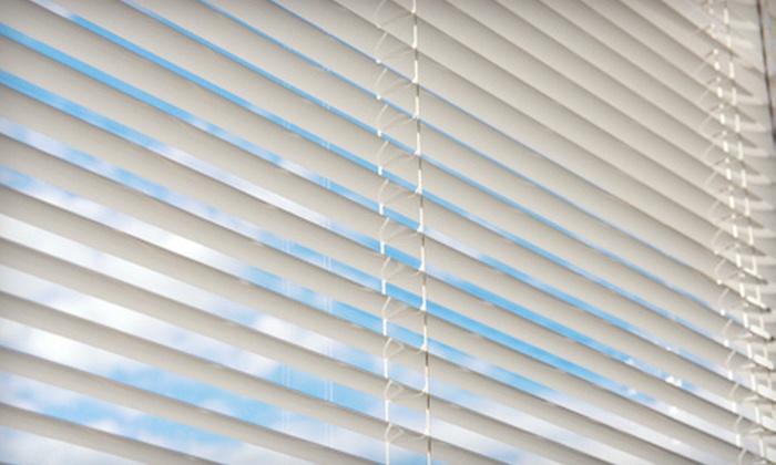 Budget Blinds  - Houston: Custom Wood Shutters or Custom Blinds and Draperies at Budget Blinds (Up to 67% Off)