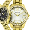 Jeanneret Rosetta Women's Watches with Cubic Zirconia Stone Accents