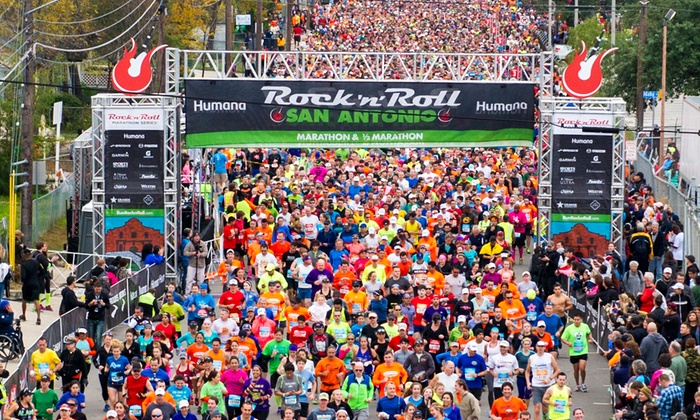 Humana Rock n' Roll Marathon  - Multiple Locations: Humana Rock n' Roll Marathon: 10K on Saturday, December 5 or 5K, Half Marathon, or Marathon on Sunday, December 6