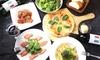大阪府/心斎橋 チーズフォンデュ、ピザなど6品+飲み放題150分