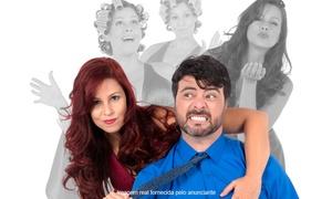 """Playcine Produções: """"As Mulheres da Minha Vida - Um Stand-Up Musical"""" - Teatro Jorge Amado: 1 ingresso para 01 ou 02/04"""