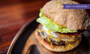 Tasty Restaurant & Pub: Smaki Ameryki: dowolne burgery z frytkami od 29,99 zł i więcej opcji w Tasty Restaurant & Pub (-32%)