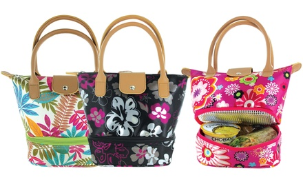 Floral Insulated Lunch Bag Groupon