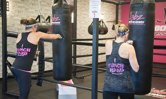 Jabz Boxing- Glendale - Sahuaro: 10 Boxing Fitness Classes or One Month of Unlimited Classes at Jabz Boxing Fitness (Up to 84% Off)