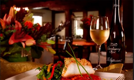 Romantic Two-Course Italian Meal with Wine for One or Two at Amici Italian Restaurant (Up to 57% Off)