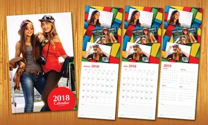 Ajooba Stationery & Gifts LLC: 2018 Personalised Calendar With Up to 13 Photos