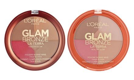 L'Oreal Paris Glam Bronze Glow Palette