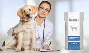 Surivet:  Paga 3 € por un descuento de 35% y gastos de envío gratis en pienso para perros o gatos Surivet