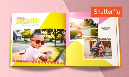Custom Photo Books from Shutterfly (Up to 83% Off). Five Options Available