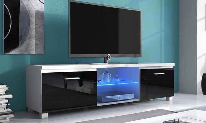Mueble de tv con luces led groupon goods for Muebles para led 50 pulgadas