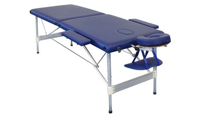 Table de massage pro groupon shopping - Table de massage professionnelle pliante ...