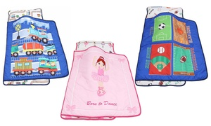Everyday Kids Toddlers' Nap Mat with Removable Pillow