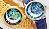 Orologio Bertha Ashley con gufo