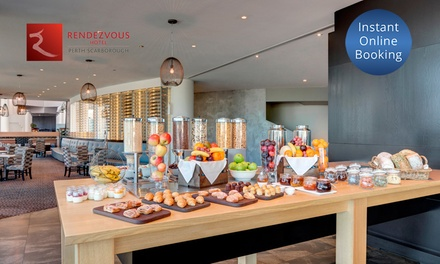 Breakfast Buffet with Ocean View for One $20 or Two $39 at Straits Cafe at the Rendezvous Hotel Up to $58 Value