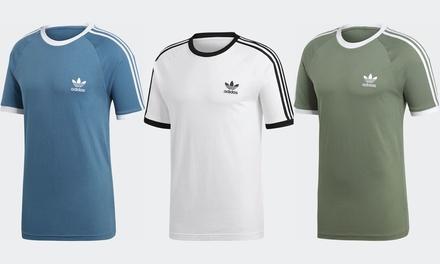 Adidas Men's ThreeStripe TShirt