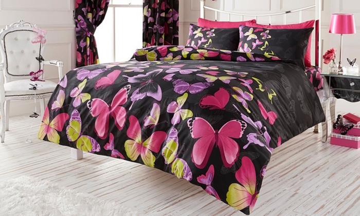 Groupon Goods Global GmbH: Easy-Care Duvet Cover Set in Choice of Design