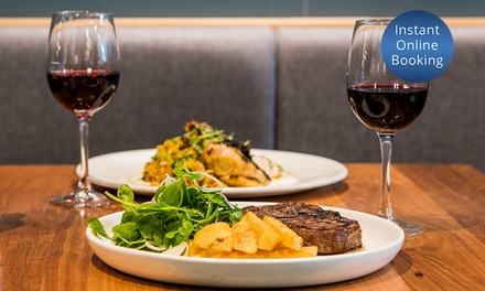 TwoCourse Dinner with Glass of Wine for Two $49 or Four People $96 at Juno And May Up to $235.60 Value