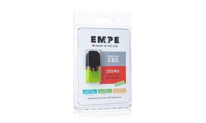 Juul-Compatible Vape Pod from EMPE CBD (200mg) | Groupon
