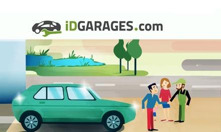 Bon dachat de 50 €, 100 € ou 150 € valable dans +de 2500 garages partenaires iDGARAGES dès 25 €