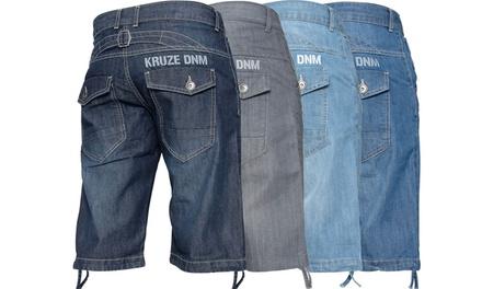 Kruze Jeans Mens Denim Shorts